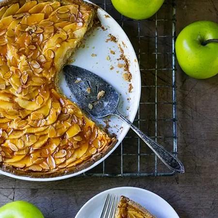 gluten free vegan apple tarts