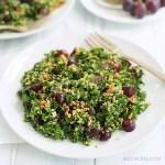chopped quinoa kale salad