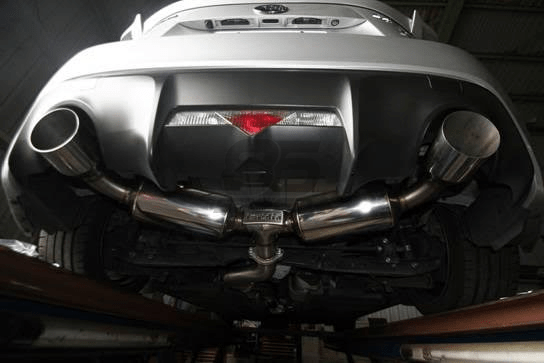 invidia n2 cat back exhaust dual stainless steel tips frs brz 86