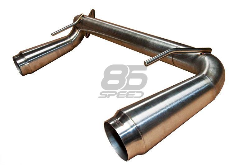 crawford twin megaphone gymkhana axle back exhaust frs brz gt86