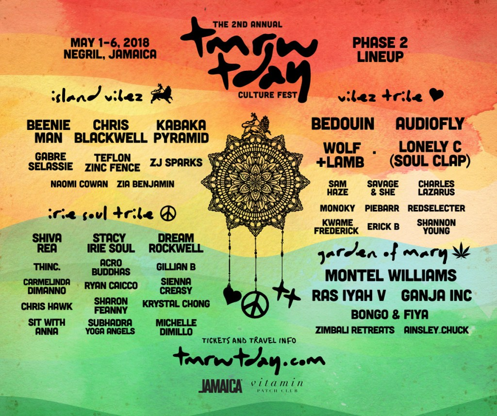 tmrw.tday, tmrw.tday 2018, in Jamaica, Negril, culture fest, 876Lover, music, reggae, yoga, relaxation, life will find you again,