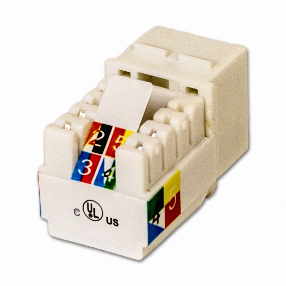 hight resolution of 1 x cat3 rj11 6p4c ethernet 90 degree right angle keystone wiring a 35mm jack speaker