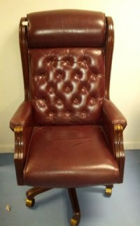 Lazy-boy Presidential Leather Office Chair - $250 (S ...