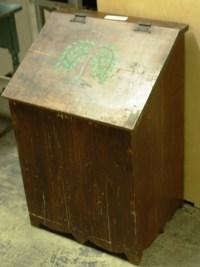 Wooden Trash Can Holder in Worcester, MA   DiggersList.com