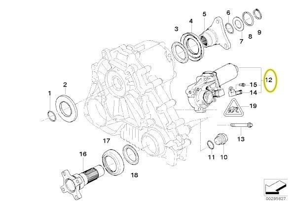 BMW X3 X5 X6 Verteilergetriebe Stellmotor reparatur