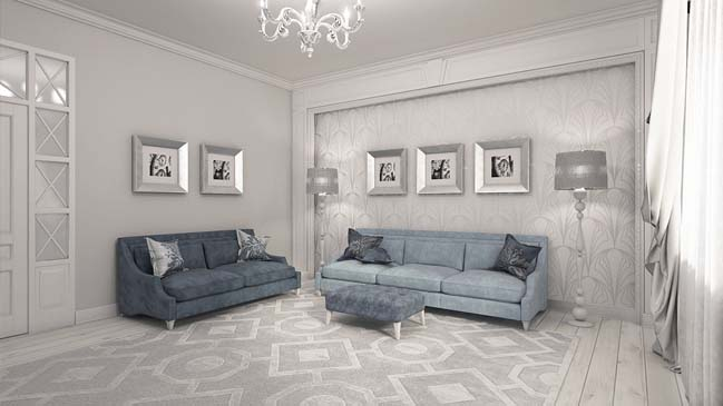 elegant living rooms designs dark wooden floor room neoclassical design