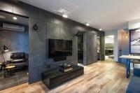 Modern apartment interior design by Home Revolt