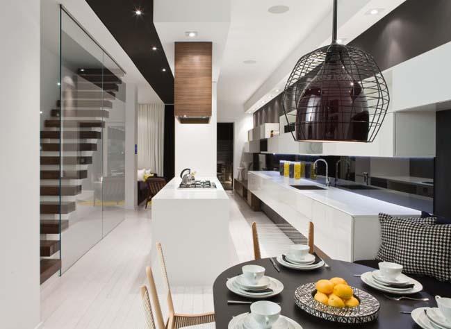 Townhouse Interior Design By Cecconi Simone