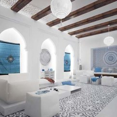 Moroccan Living Room Design Tufted Sofa Luxury By Mimar Interior