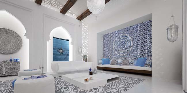 moroccan living room design interior ideas narrow luxury by mimar