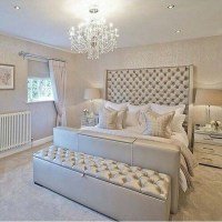 15 glamour silver bedroom designs