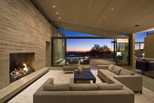 Contemporary House Design In Arizona USA
