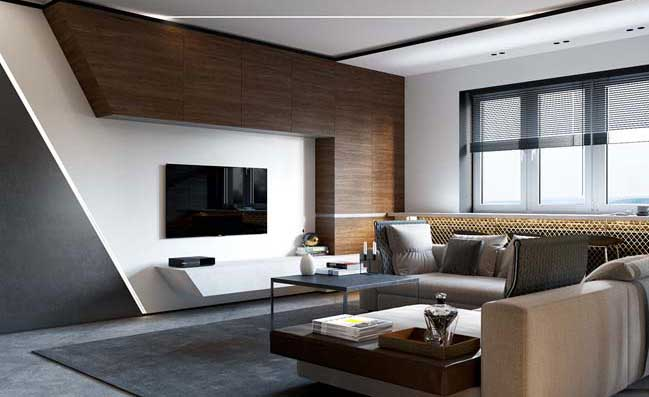 living room design indian style best color 2018 luxury apartment 50 sqm by shmidt studio