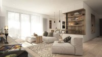Warm and cozy apartment design by NOI Studio