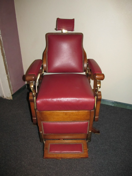 SOLD… Antique Barber Chair