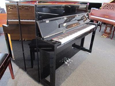 Ritmuller Model UH118R studio upright piano