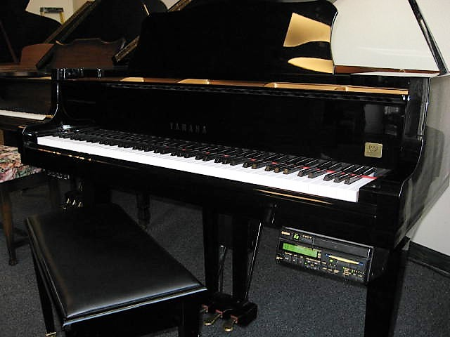 how to connect yamaha disklavier