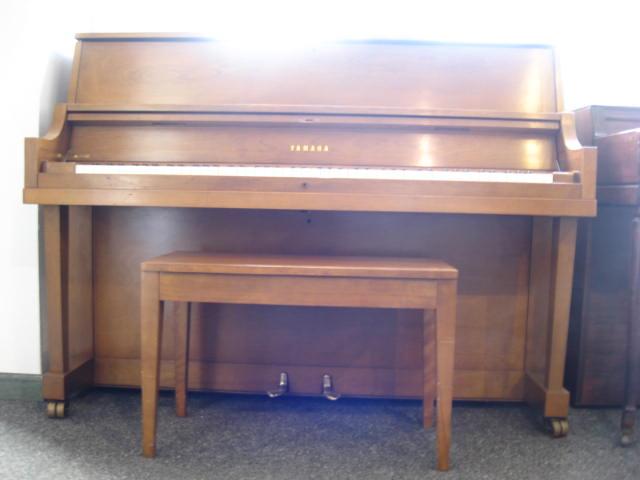 Yamaha model p2 studio upright piano for Yamaha upright piano lock key