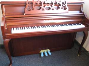 Pearl River model UP-110 Console Piano