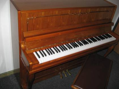 Hallet Davis model H-116 Studio Upright Piano