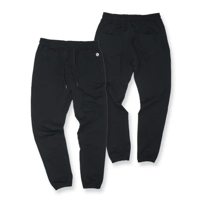 black tech joggers product