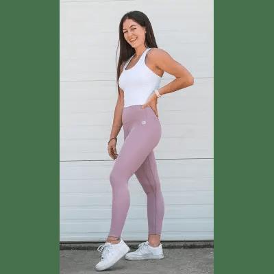 explore leggings lilac front 2