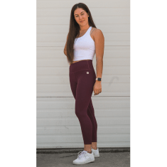 Explore Leggings - Bordeaux