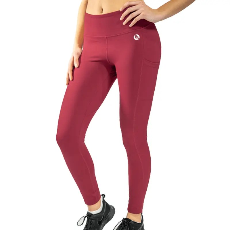 Release Edition Red leggings front