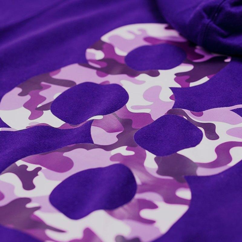 Product Image Royal purple camo Kanga Hoodie crest