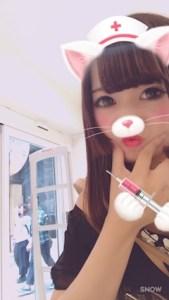 池袋JK制服キャバクラ【はちみつくろーばー】いづみ 変顔