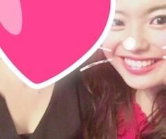 池袋JK制服キャバクラ【はちみつくろーばー】ひかり 夏のツーショット