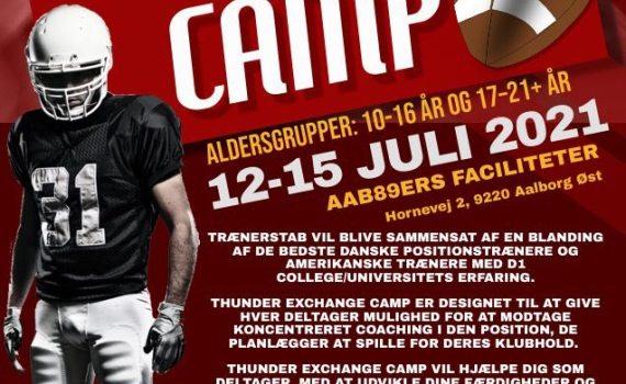 89ers – Thunder Exchange Camp  (17 – 21+ år)