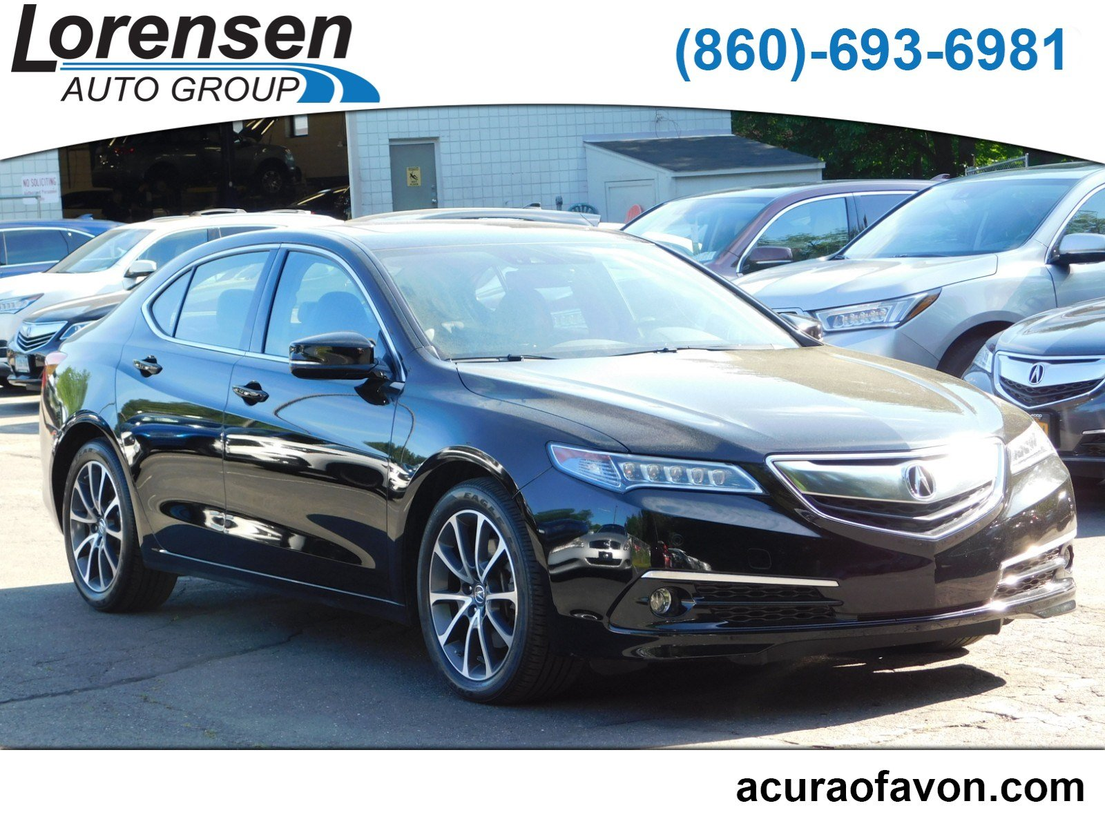 hight resolution of pre owned 2016 acura tlx v6 advance