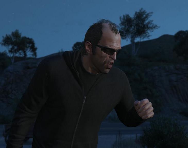 Grand Theft Auto V Trevor Philips