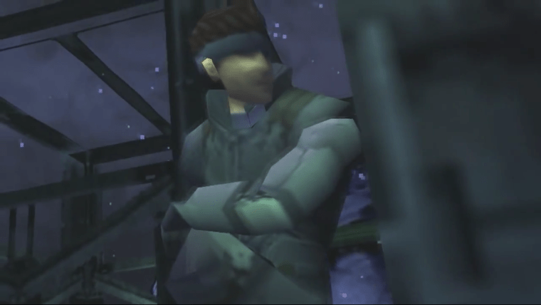 """Mistaking Big Boss for Solid Snake has Given Rise to the """"No! That is not Solid Snake"""" Meme. 8Bit/Digi"""