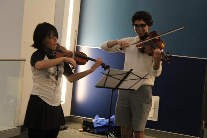 Violinists FanimeCon 2017 8Bit/Digi