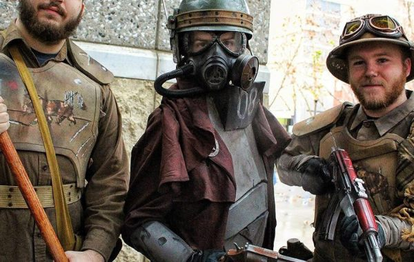 NCR cosplay SacAnime Winter 2019 8Bit/Digi