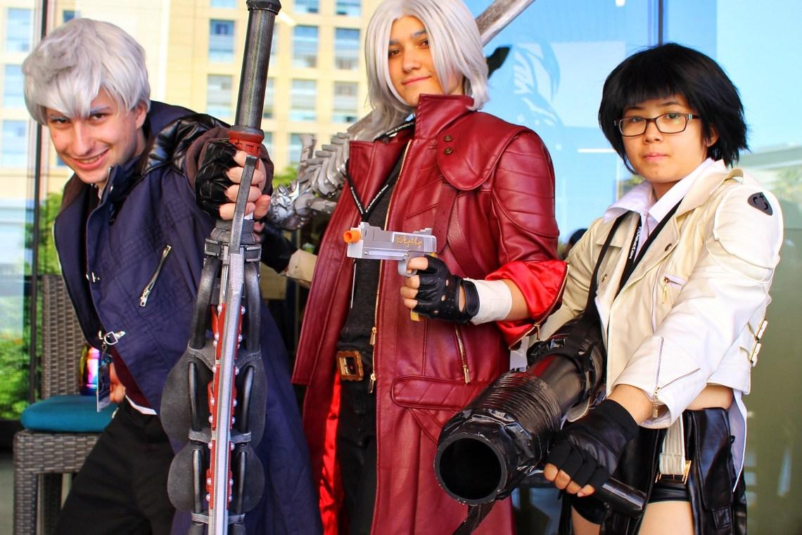 Devil May Cry cosplayers FanimeCon 2019 8Bit/Digi