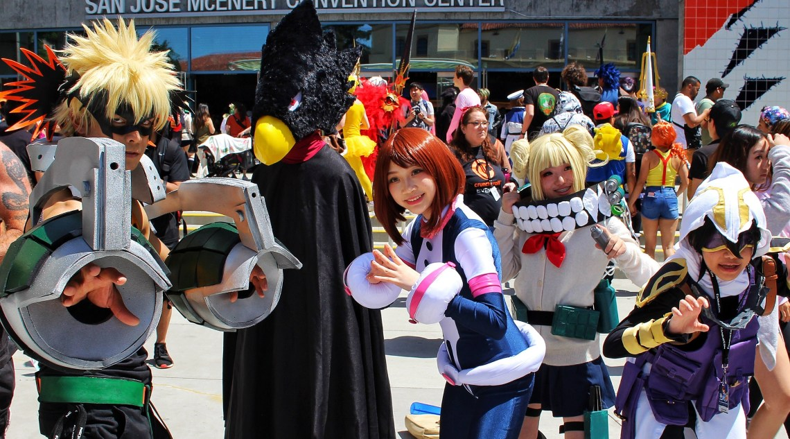 My Hero Academia cosplay FanimeCon 2019 8Bit/Digi