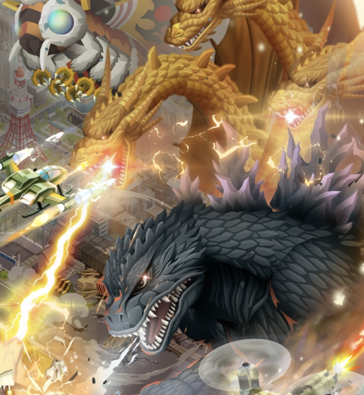 Godzilla Defense Force (iOs)