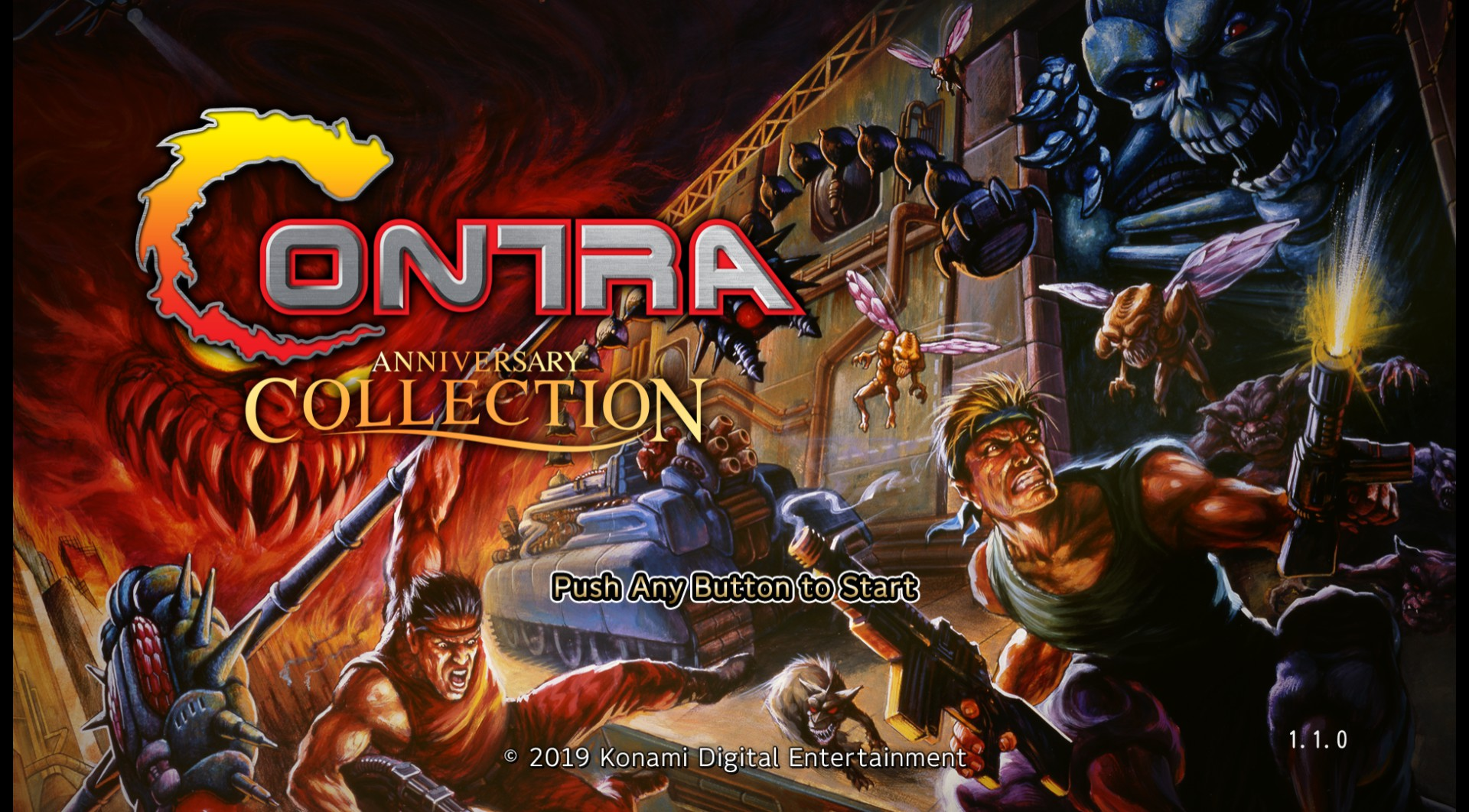 Contra Anniversary Collection (PC)