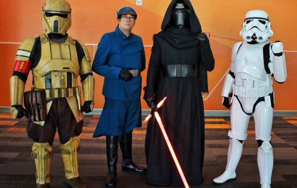 Star Wars cosplay Silicon Valley Con 2019 8Bit/Digi