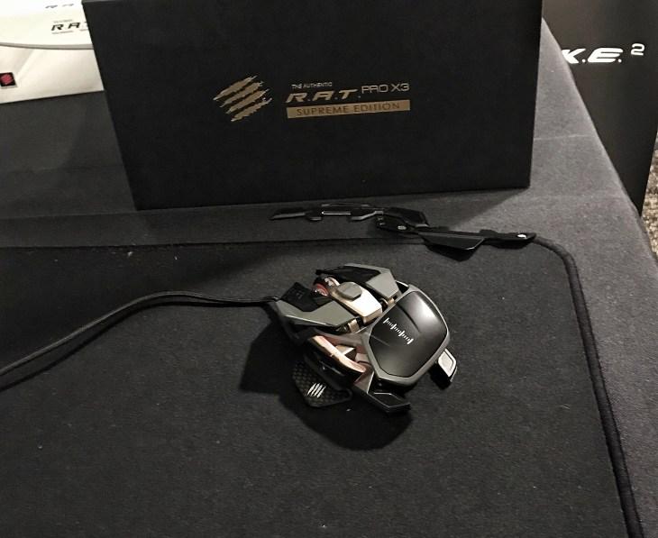 ces2020 mad catz RAT Pro X3