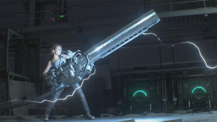 Jill Valentine Rail Gun Resident Evil 3 8bit/Digi