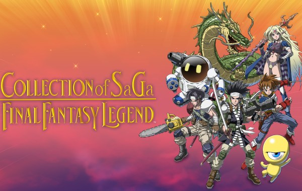 Final Fantasy Legend Nintendo Switch 8Bit/Digi