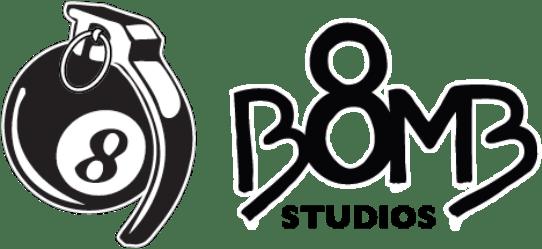 8 bomb studios branding