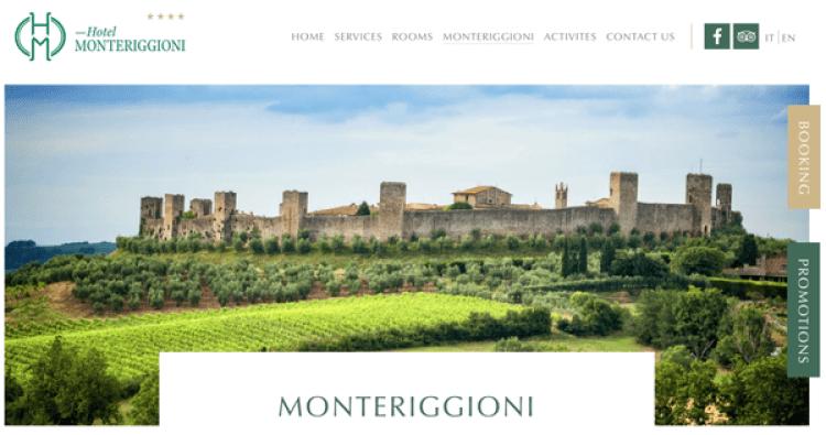 蒙特里焦尼 Monteriggioni
