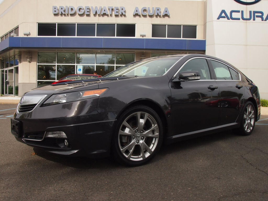 Preowned 2014 Acura Tl 37 Wadvance Package Sedan In