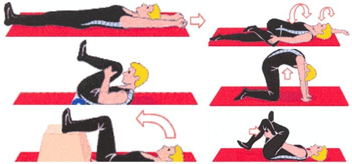 упражнения при болях в спине1