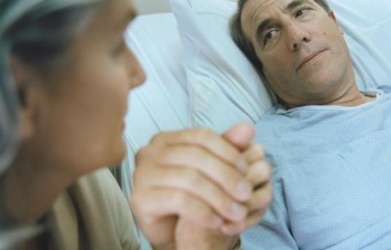 Общение с тяжелобольным родственником